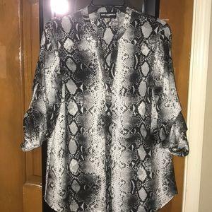 KARL LAGERFELD Snake Skin Shirt